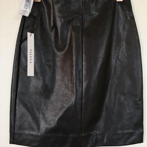 Wilfred vegan leather mini skirt